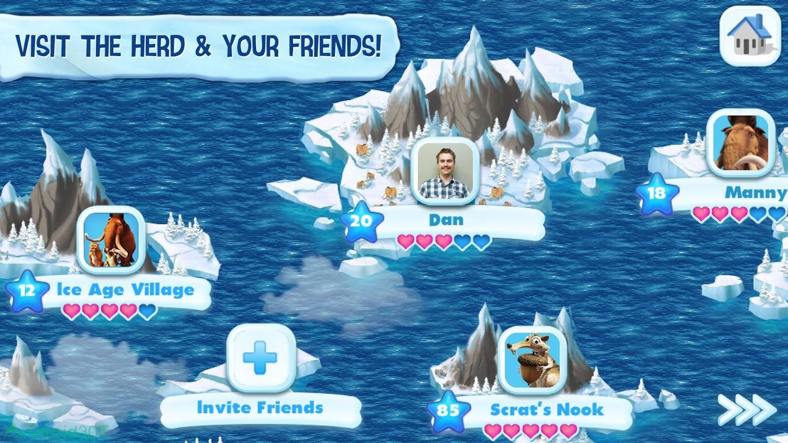 دانلود Ice Age Village 3.6.0f – بازی عصر یخبندان اندروید