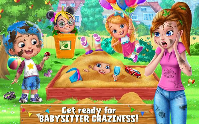 دانلود 1.0.1 Babysitter Craziness: Kids Fun – بازی کودکانه پرستار بچه اندورید