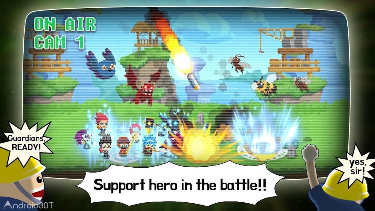 دانلود Videogame Guardians 1.3.7 – بازی نگهبان بازیهای ویدئویی اندروید