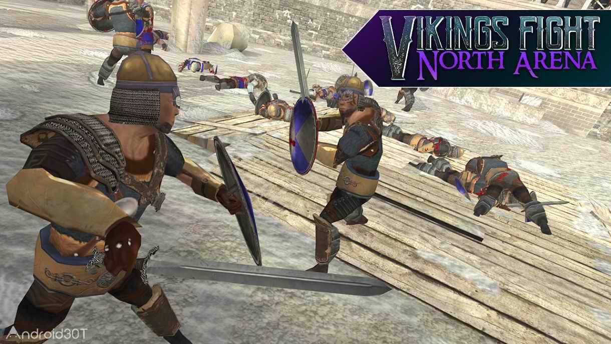 دانلود Vikings Fight: North Arena 2.6.0 – بازی اکشن نبرد وایکینگ ها اندروید