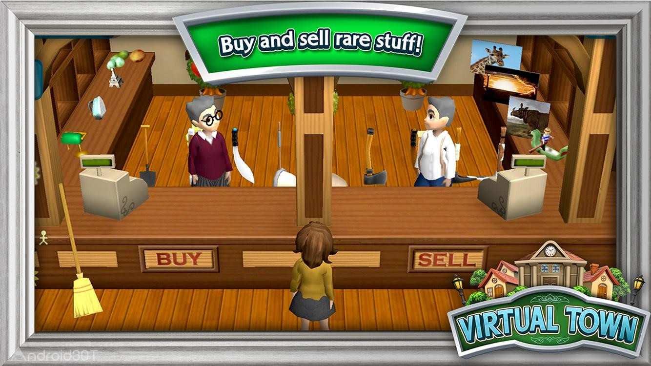 دانلود Virtual Town 0.7.14 – بازی پرطرفدار شهر مجازی اندروید