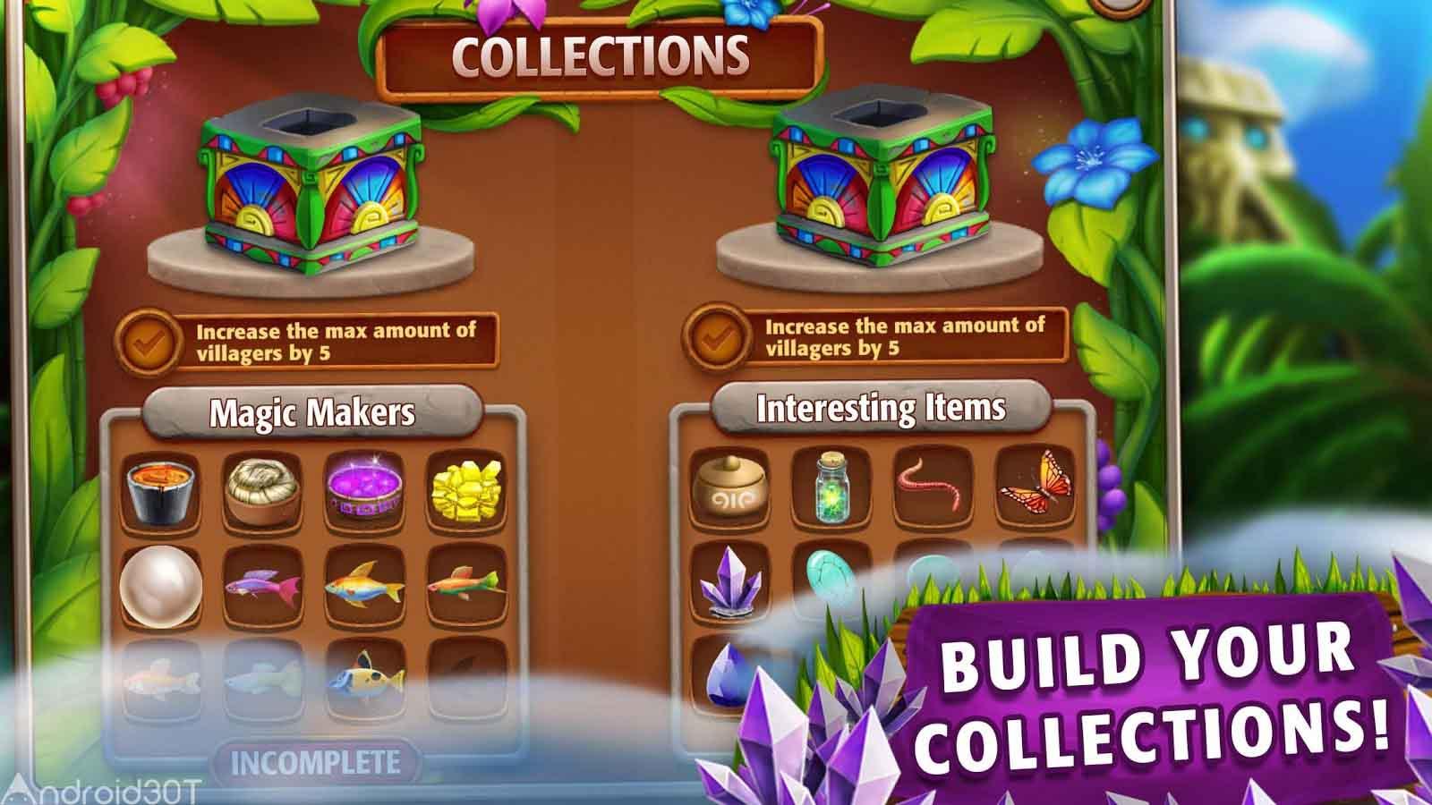 دانلود Virtual Villagers Origins 2 v2.5.22 – بازی روستائیان مجازی 2 اندروید