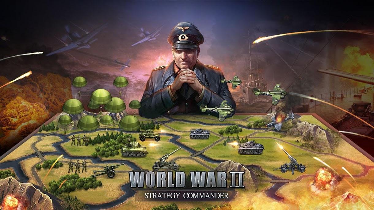دانلود 2.4.7 WW2: Strategy Commander Conquer Frontline – بازی استراتژیکی اندروید