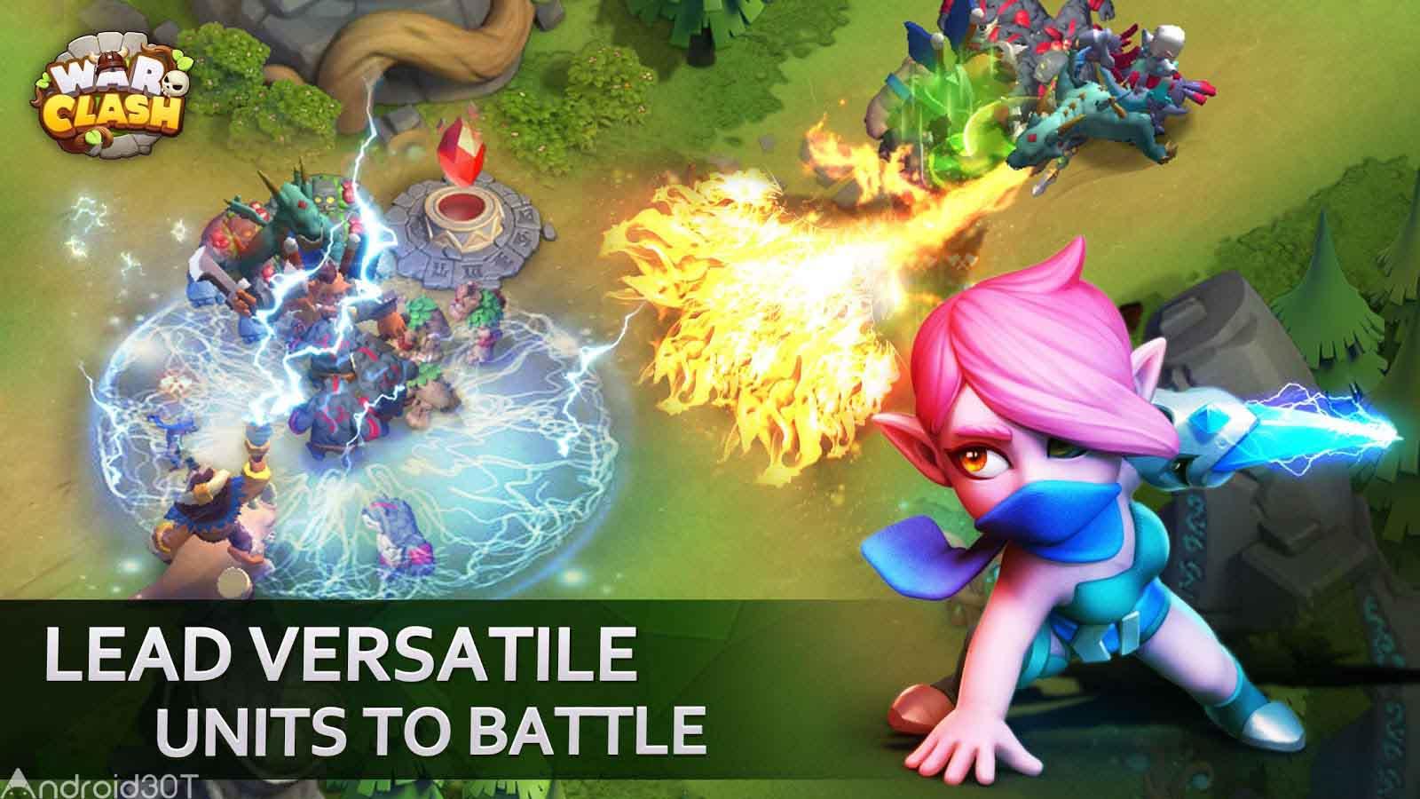 دانلود War Clash 1.0.0.10 – بازی استراتژی درگیری در نبرد ها اندروید