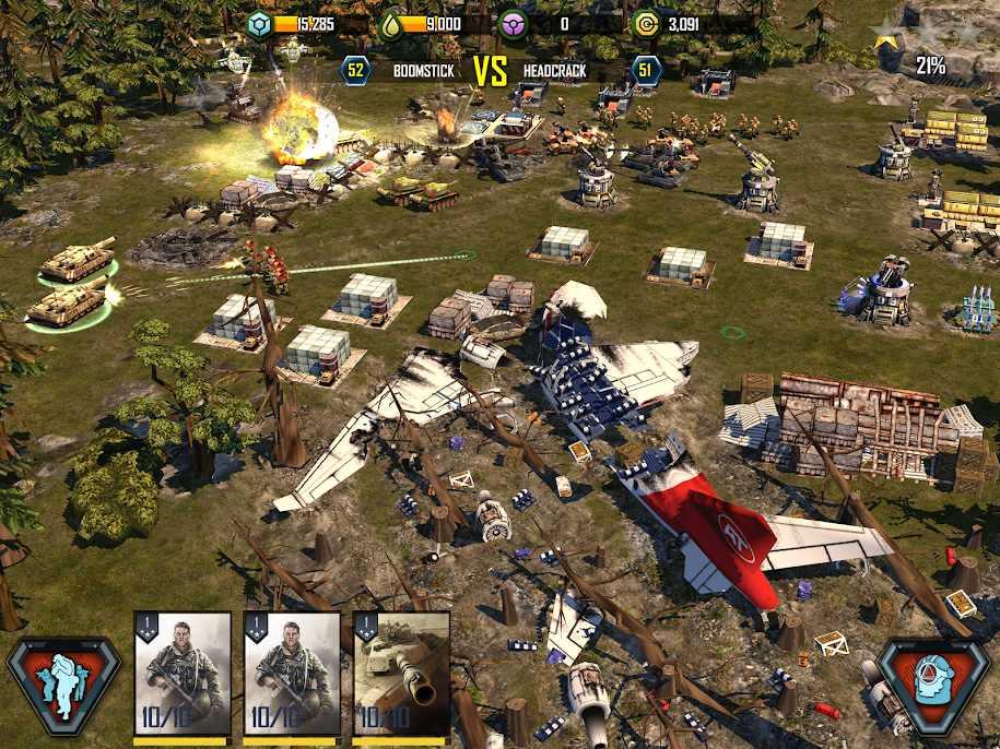 دانلود War Commander: Rogue Assault 3.8.3 – بازی استراتژیک اندروید