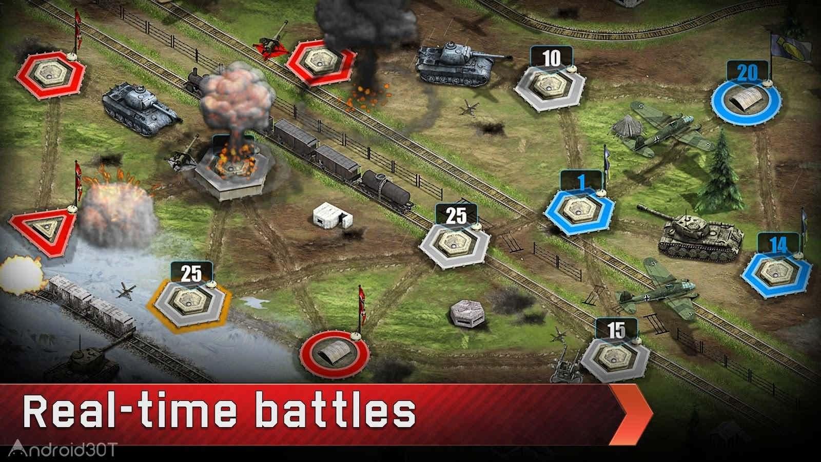 دانلود War Conflict 1.39.0 – بازی پرطرفدار استراتژیک برای اندروید