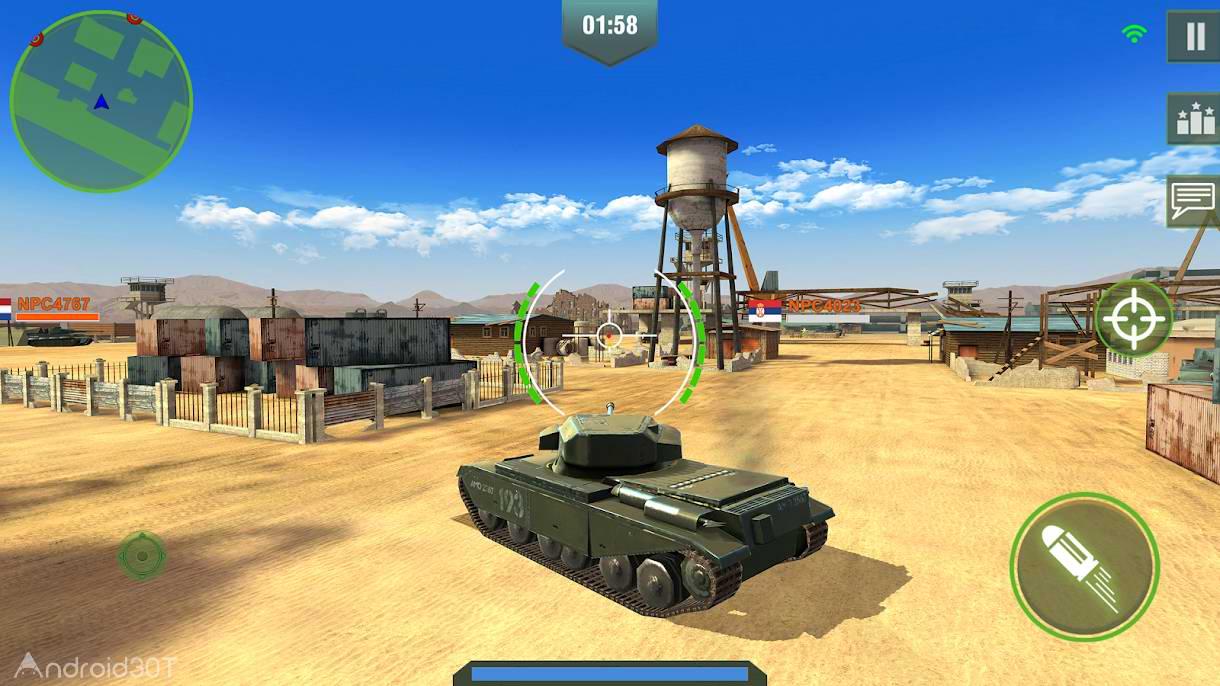 دانلود War Machines Tank Shooter Game 4.30.1 – بازی اکشن نبرد تانکها برای اندروید