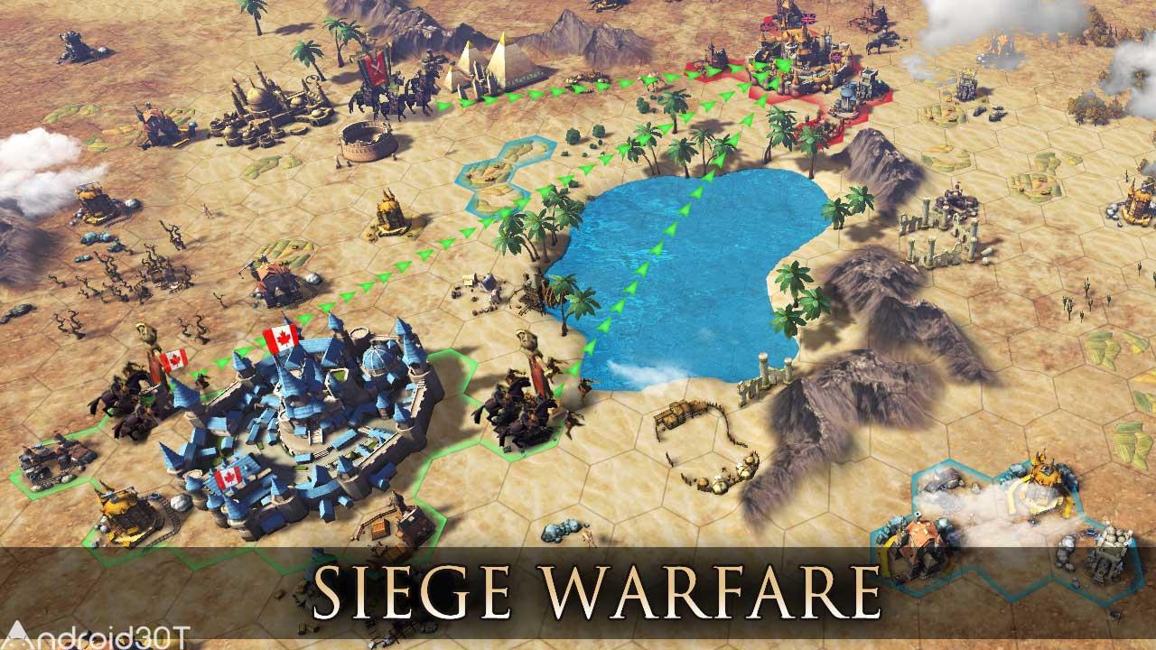 دانلود War of Civilization: Conquest Game 1.0.0.0 – بازی استراتژی جنگ تمدن ها اندروید