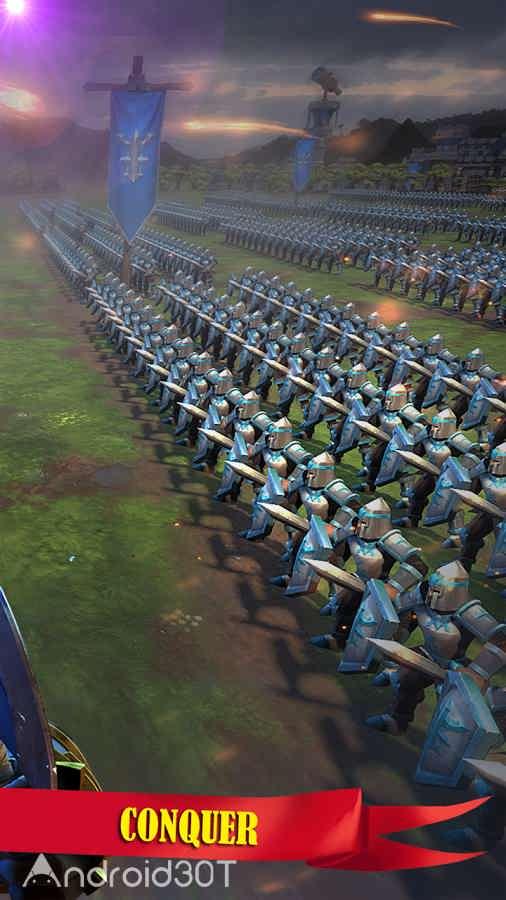 دانلود WarStorm: Clash of Heroes 1.3.7 – بازی استراتژیکی نبرد قهرمانان اندروید
