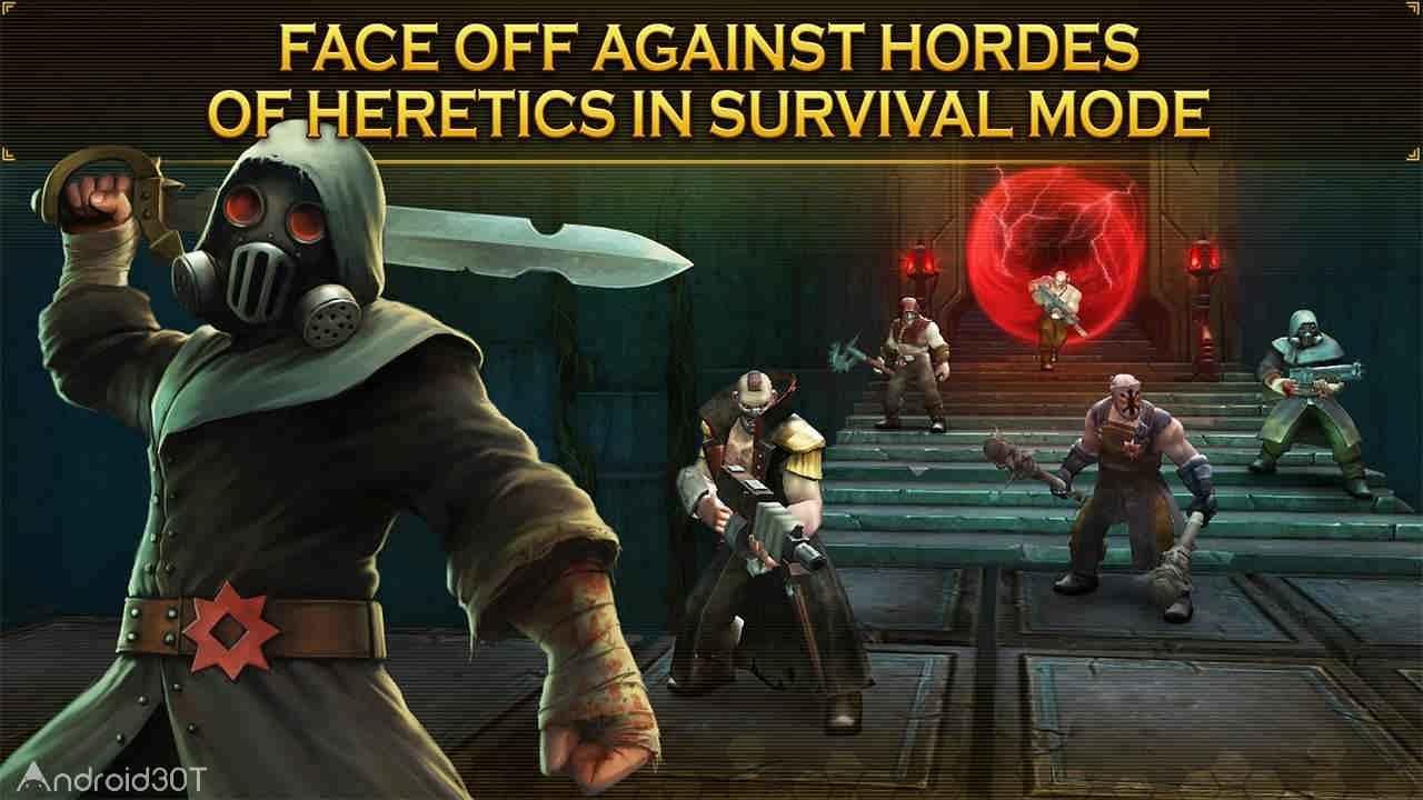 دانلود Warhammer 40,000: Space Wolf 1.4.18 – بازی استراتژی گرگ فضایی اندروید