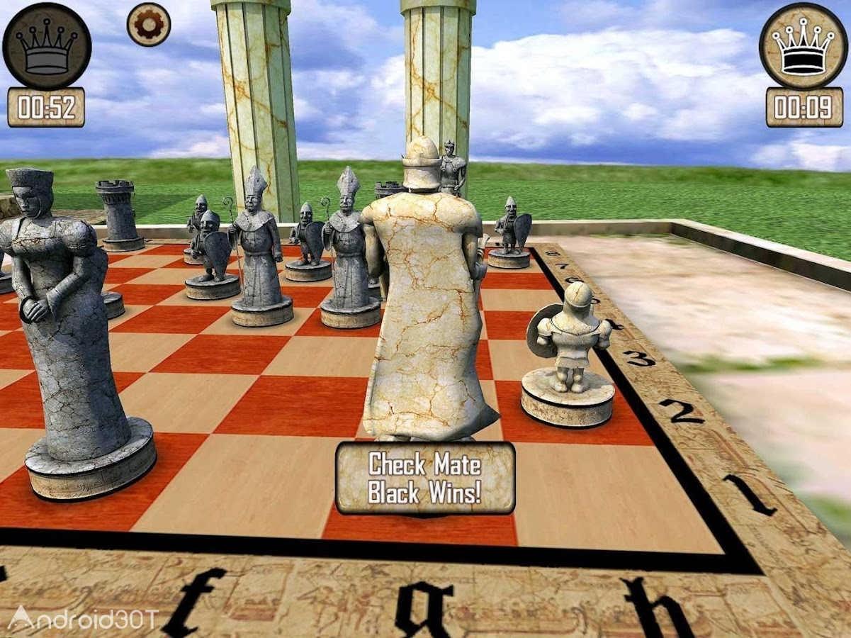 دانلود Warrior Chess 1.28.21 – بازی سه بعدی شطرنج جنگجو اندروید