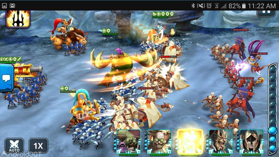 دانلود Wartide Heroes of Atlantis 1.14.07 – بازی نقش آفرینی قهرمانان آتلانتیس اندروید