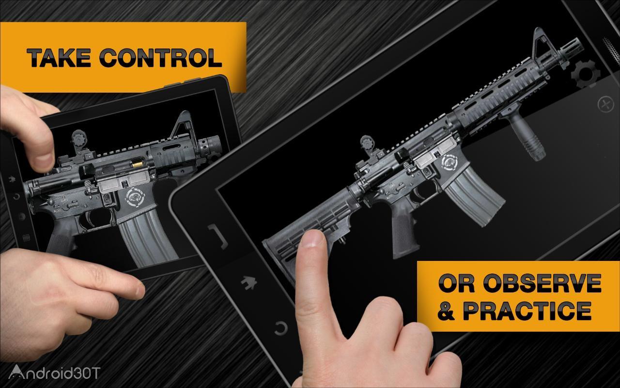 دانلود Weaphones™ Gun Sim Free Vol 1 v2.4.0 – بازی شبیه ساز اسلحه اندروید