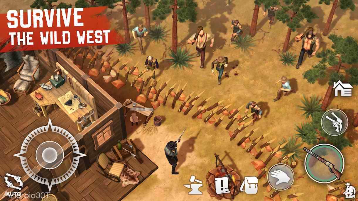 دانلود Westland Survival 1.4.1 – بازی کابوی درغرب وحشی اندروید