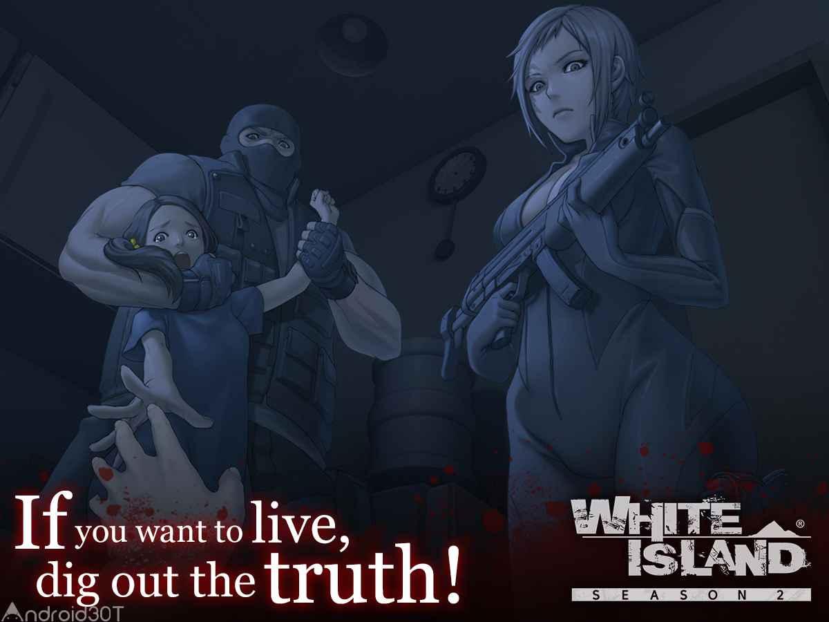 دانلود White Island: Season 2 v2.0.4.1 – بازی ماجراجویی جزیره سفید اندروید