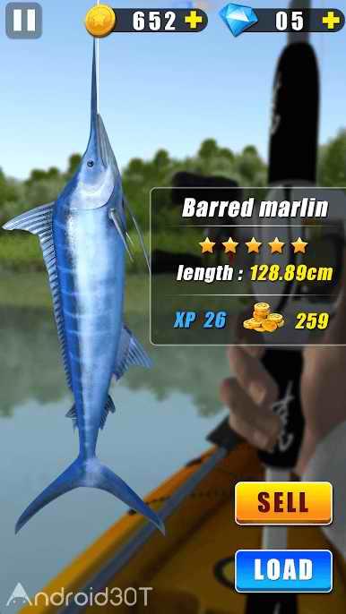 دانلود Wild Fishing 2.1.0 – بازی سرگرم کننده ماهیگیری اندروید