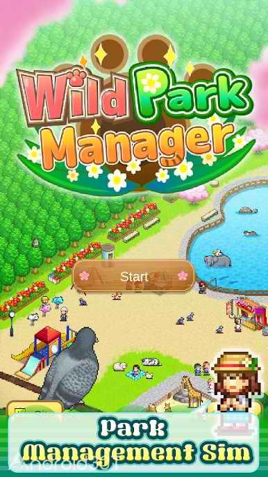 دانلود Wild Park Manager 1.1.5 – بازی شبیه سازی مدیریت پارک وحش اندروید