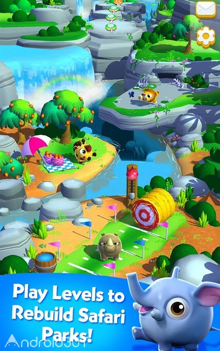 دانلود Wild Things: Animal Adventure 5.7.174.807111837 – بازی پازلی حیوانات برای اندروید