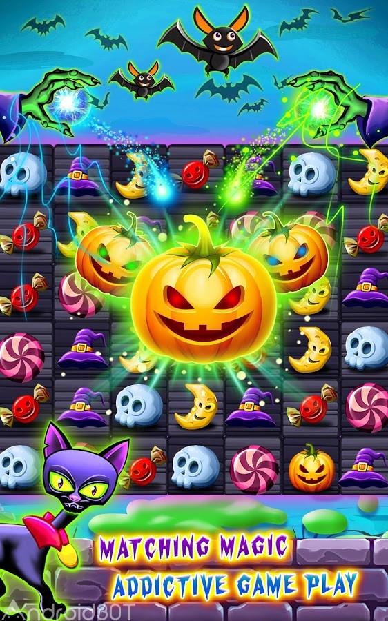 دانلود Witchdom – Candy Match 3 v1.6.3 – بازی پازل و سرگرم کننده جادوگر اندروید