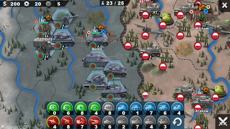 دانلود World Conqueror 4 1.2.44 – بازی عالی تسخیر جهان 4 اندروید