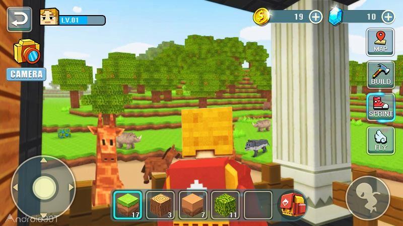 دانلود World Craft Building 1.3 – بازی ساختمان سازی جدید اندروید