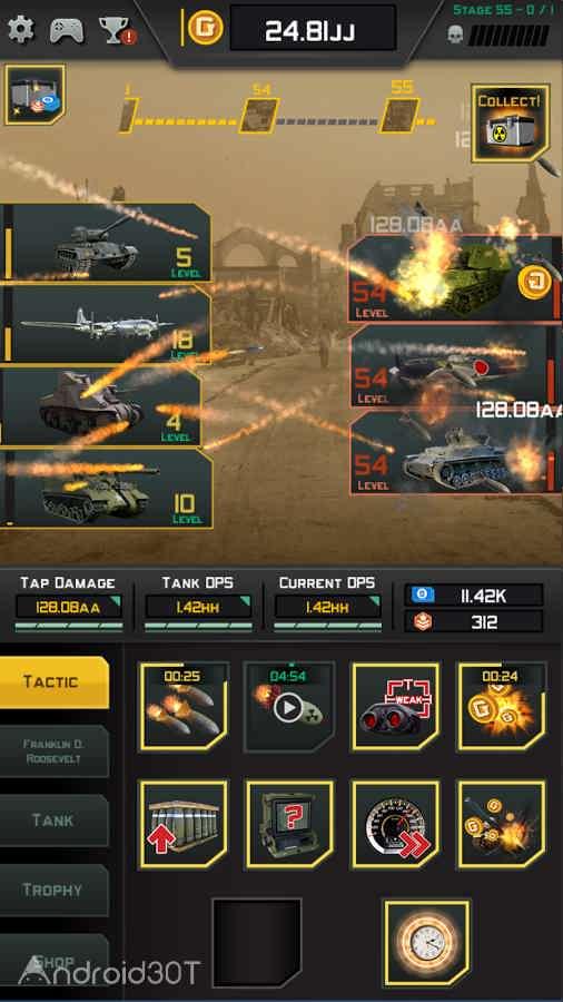 دانلود World War 2: Axis vs Allies 1.0.1 – بازی استراتژیکی جنگ جهانی دوم اندروید