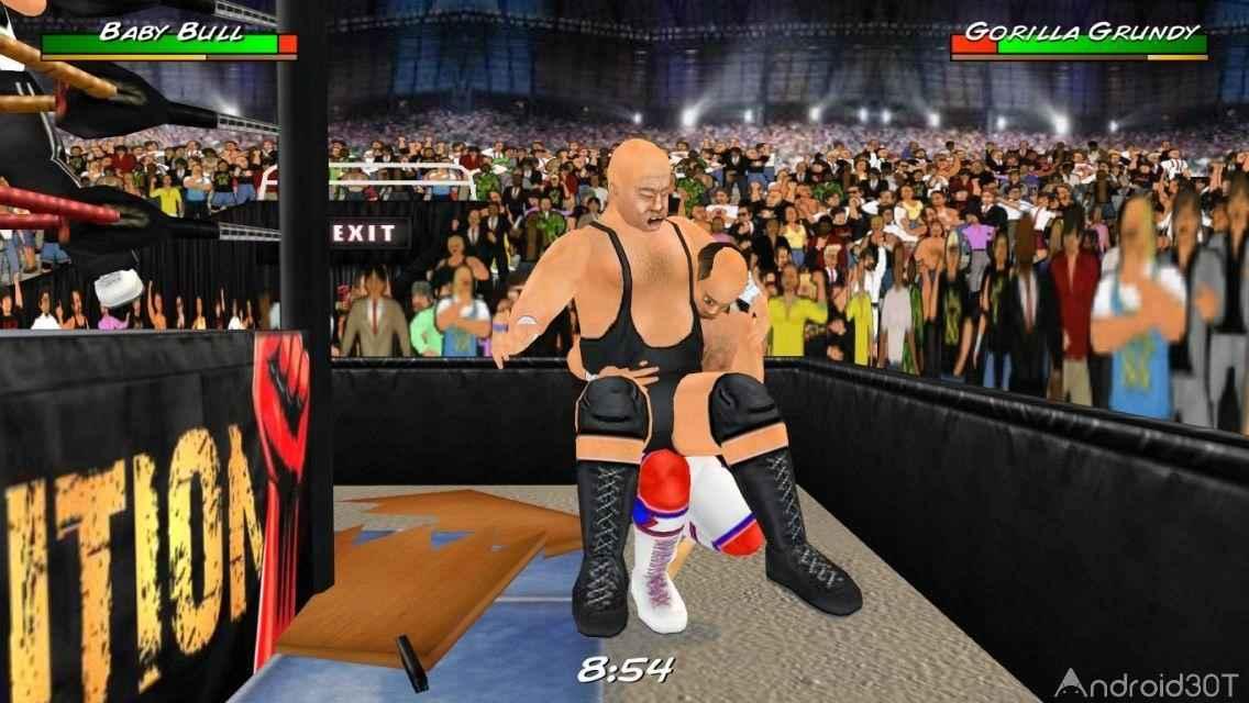 دانلود Wrestling Revolution 3D 1.656 – بازی ورزشی کشتی کج اندروید