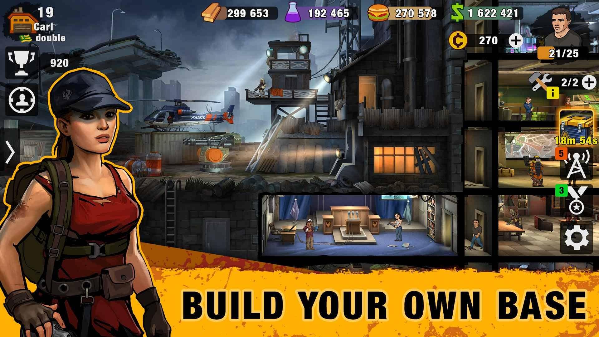 دانلود Zero City: Zombie Shelter Survival 1.7.3 – بازی شبیه سازی شهر زیرزمینی اندروید