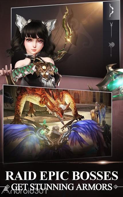 بازی Zilant – The Fantasy MMORPG 0.5.4 – بازی اکشن فانتزی زیلانت اندروید
