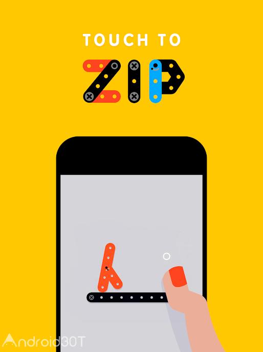 دانلود Zip Zap 2.02 – بازی اعتیادآور و سرگرم کننده اندروید