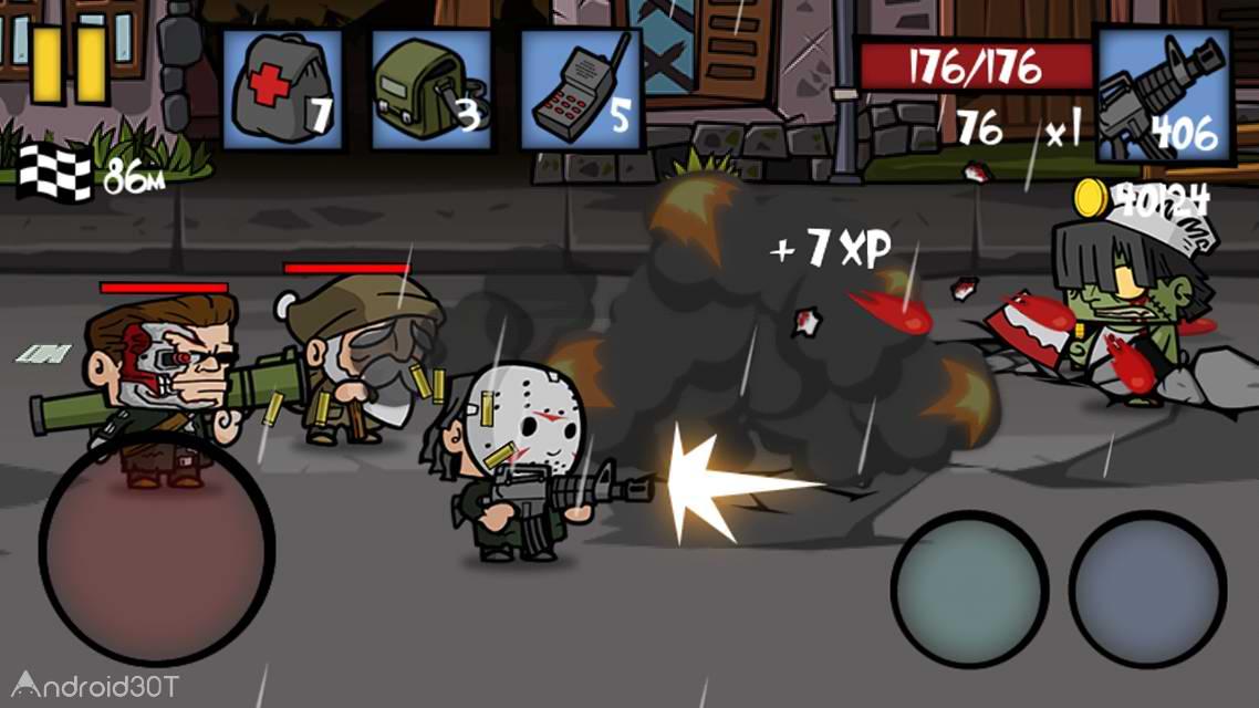 دانلود Zombie Age 2 1.3.0 – بازی اکشن عصر زامبی 2 اندروید