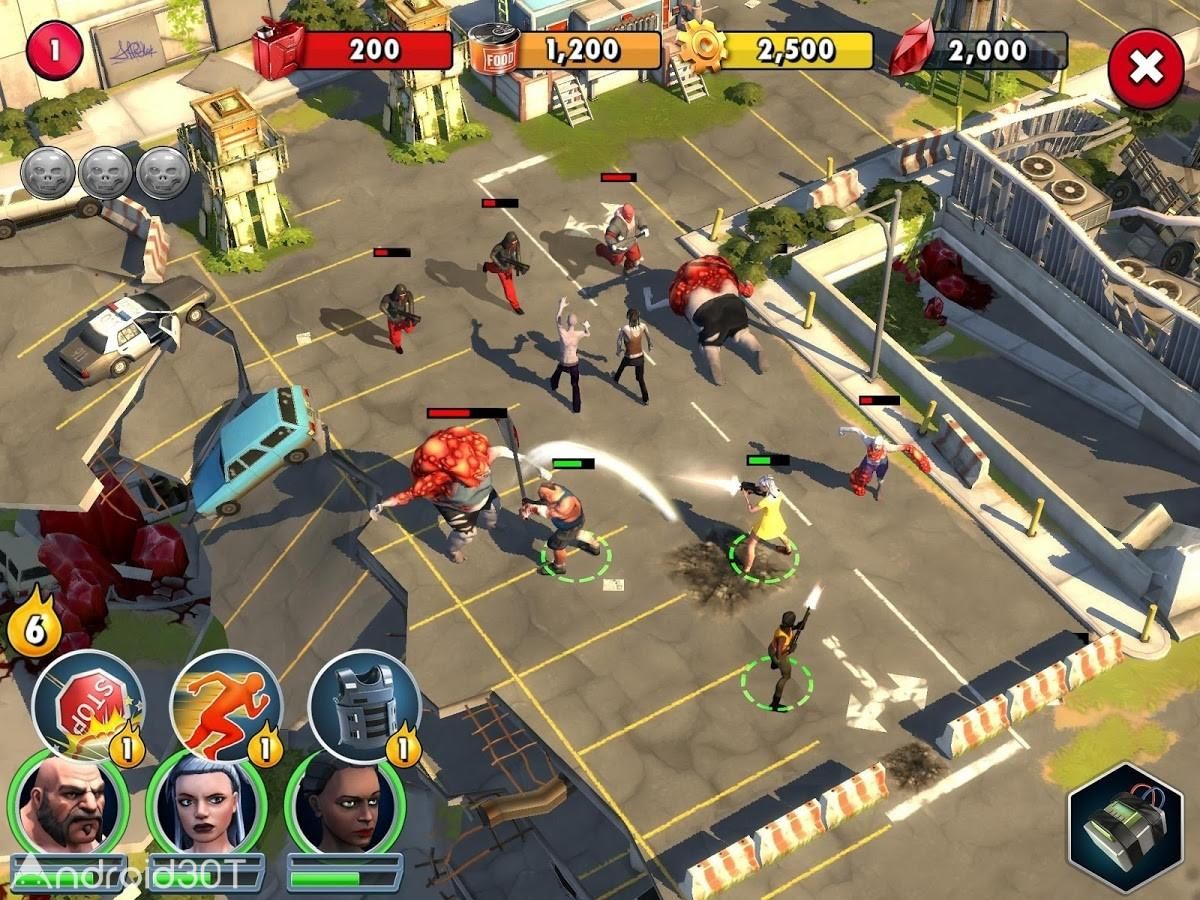 دانلود Zombie Anarchy: War & Survival 1.3.1c – بازی هرج و مرج زامبی اندروید