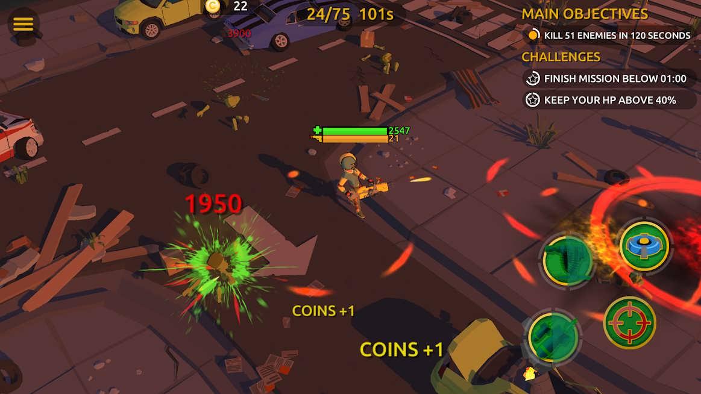 دانلود Zombie Blast Crew v2.4.0 – بازی اکشن زامبی کشی برای اندروید
