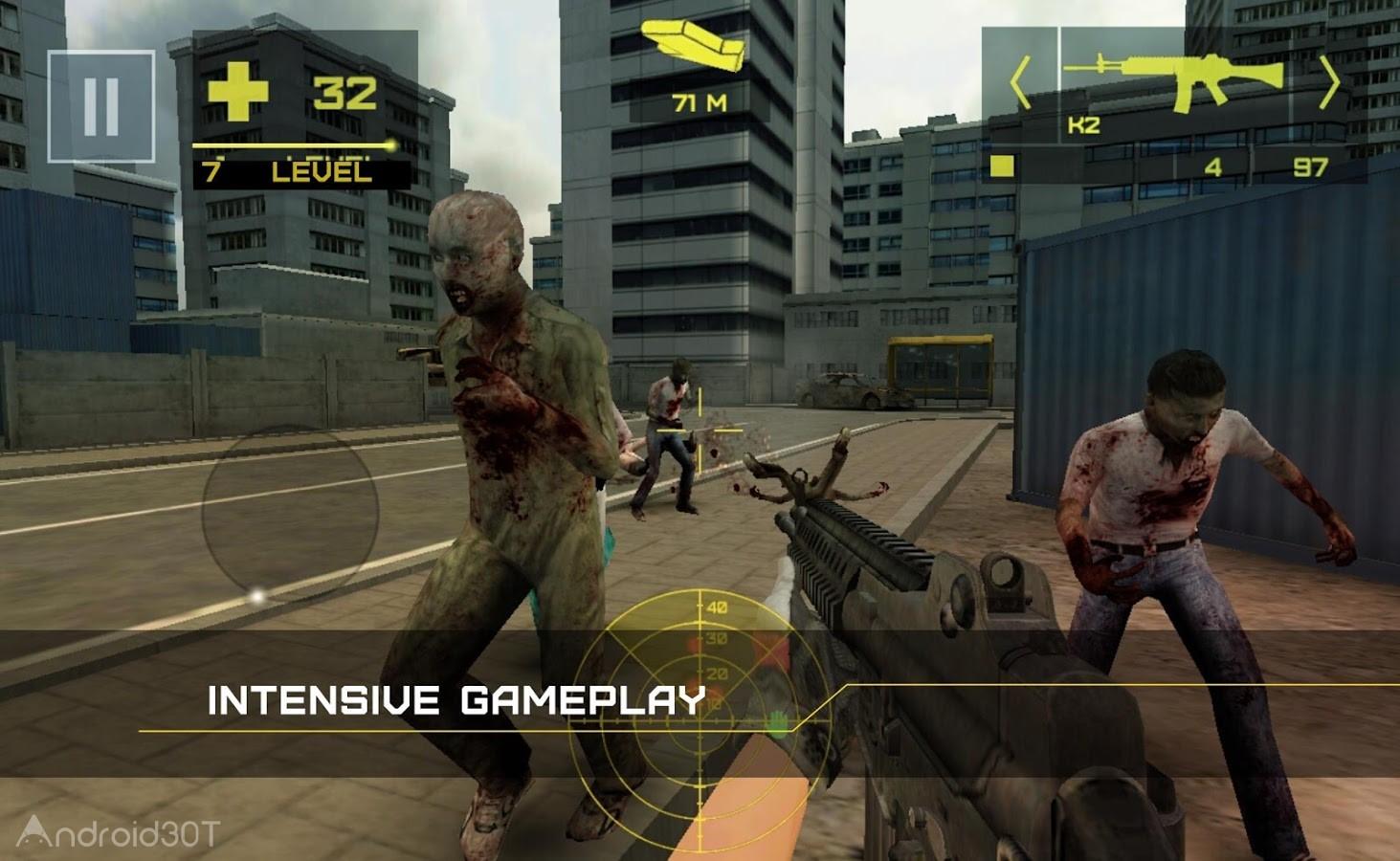 Zombie Defense: Adrenaline 3.16 – بازی دفاع زامبی: آدرنالین اندروید