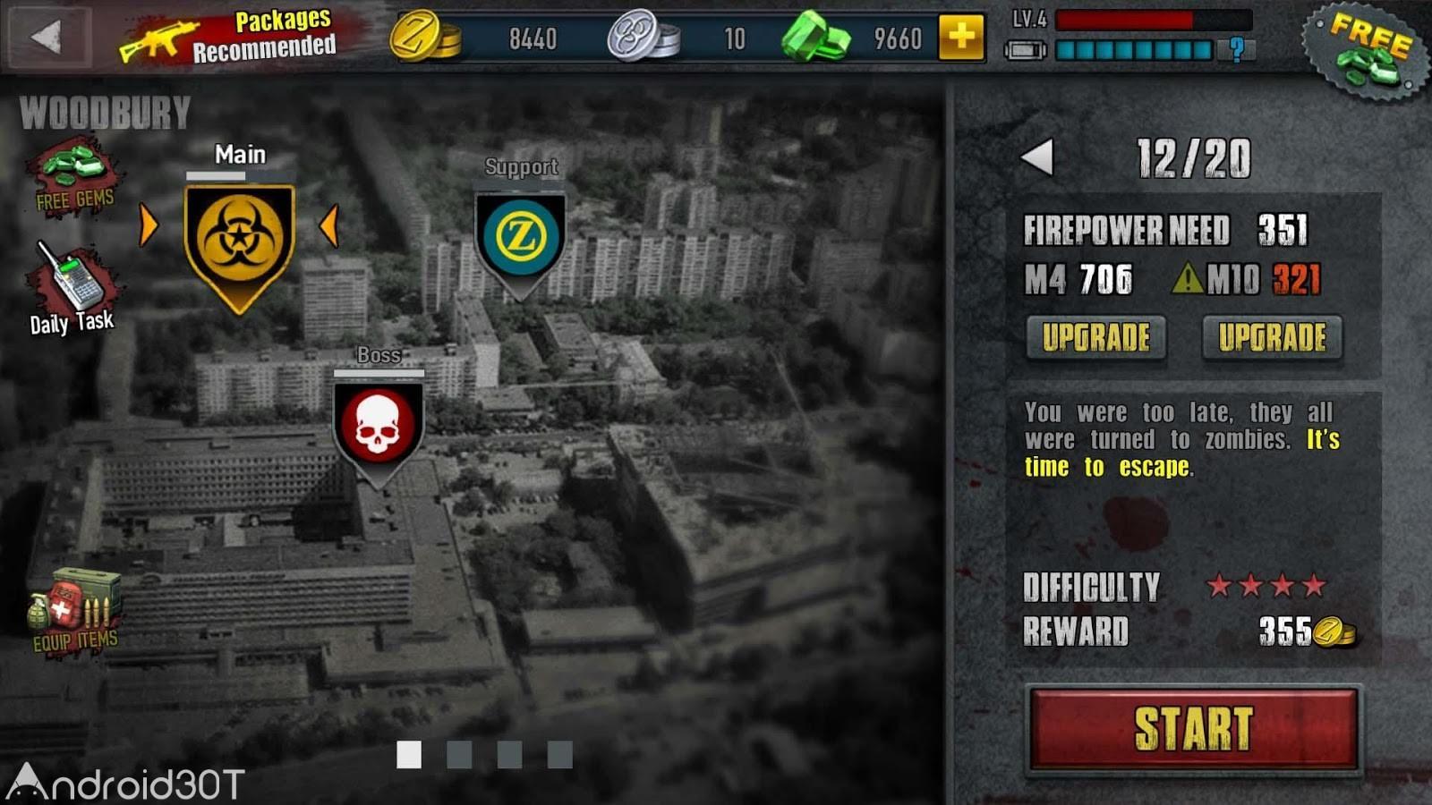 دانلود Zombie Frontier 3 v2.36 – بازی اکشن منطقه زامبی ها ۳ اندروید
