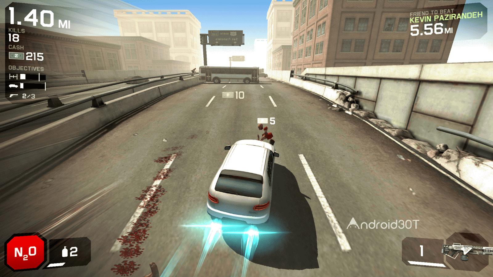 Zombie Highway 2 v1.4.3 – دانلود بازی بزرگراه زامبی 2 اندروید
