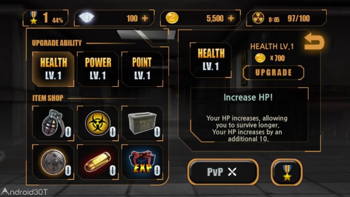 دانلود Zombie Hunter King 1.0.35 – بازی اکشن شکارچی زامبی اندروید