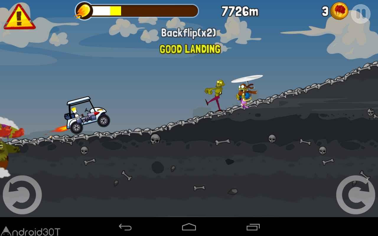 دانلود Zombie Road Trip 3.26 – بازی جاده ی زامبی ها اندروید