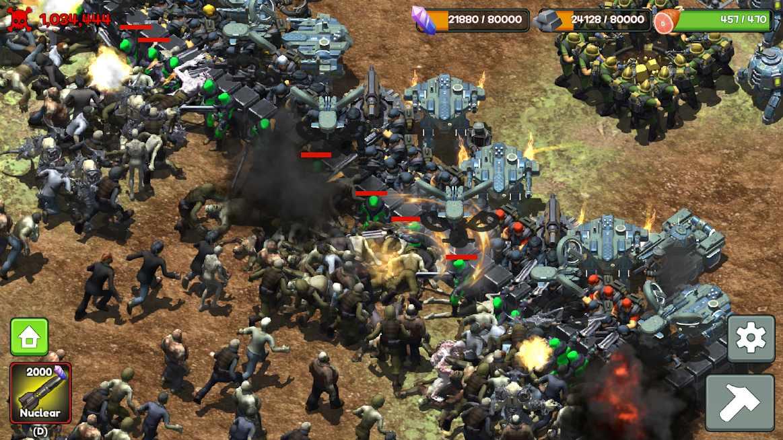 دانلود Zombie Rush : Extinction 9.0 – بازی استراتژیکی انقراض زامبی ها اندروید