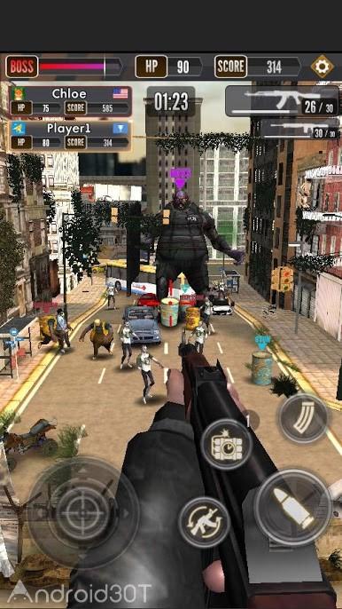 دانلود 1.0.4 Zombie Shooting King – بازی اکشن تیراندازی به زامبی اندروید