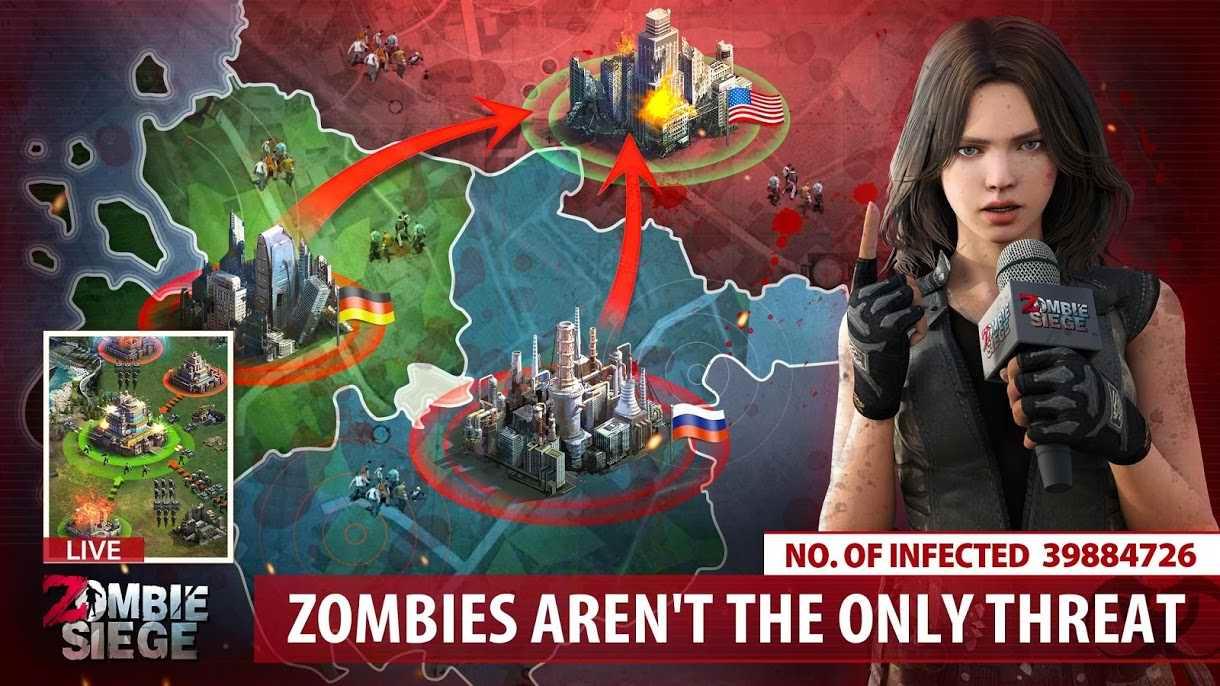 دانلود Zombie Siege 0.1.455 – بازی استراتژی در محاصره زامبی ها اندروید