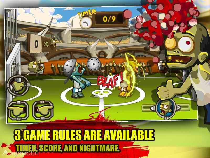 دانلود Zombie Smashball 1.6 – بازی مسابقه ای زامبی ها اندروید