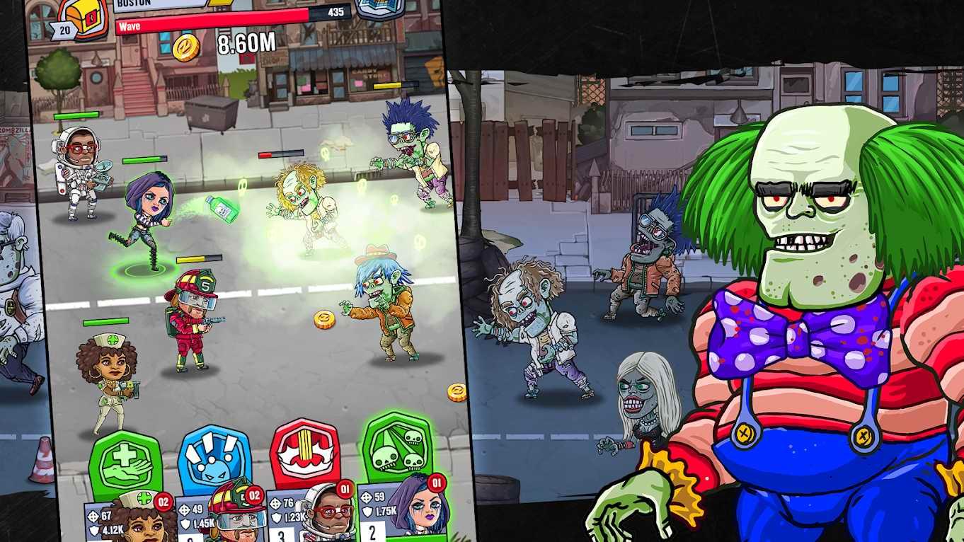 دانلود Zombieland: AFK Survival 2.4.1 – بازی اکشن سرزمین زامبی ها اندروید