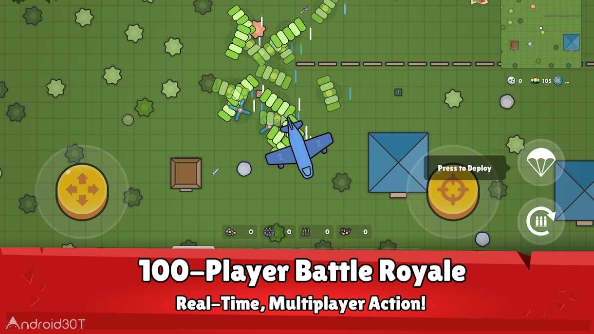 دانلود ZombsRoyale.io – 2D Battle Royale 1.0.2 – بازی اکشن نبرد زامبی ها اندروید