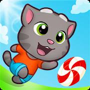 دانلود 4.5.259 Talking Tom Candy Run - بازی جالب تاکینگ تام برای اندروید