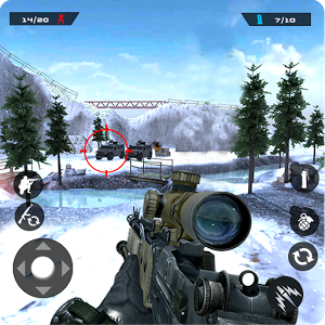 دانلود Winter Mountain Sniper 1.2.1 - بازی تک تیراندازی 2018 اندروید