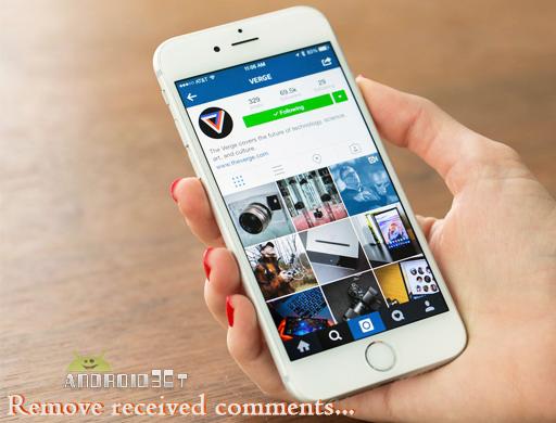 روش حذف کردن کامنتهای دریافتی در اینستاگرام + تصاویر