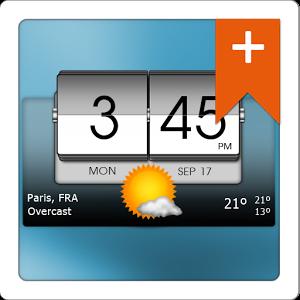 دانلود 3D Flip Clock & World Weather 5.84.2 - برنامه هواشناسی اندروید