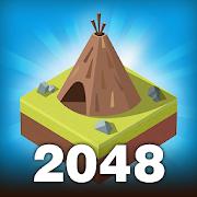 دانلود Age of 2048: Civilization City Building Games 2.4.4 - بازی پازلی جالب برای اندروید