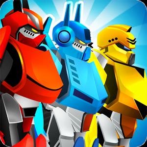 دانلود Automatrons: Shoot and Drive 3.62 – بازی اکشن و مسابقه ای رباتهای دونده اندروید